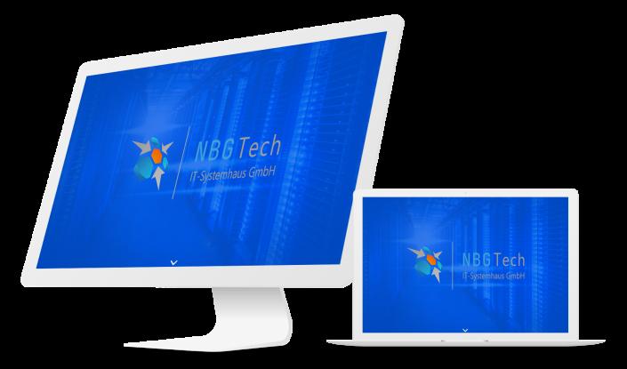 Одностраничный сайт компании NBGtech, Германия