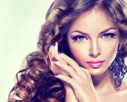 Шаблон одностраничного сайта Beauty Сервиса