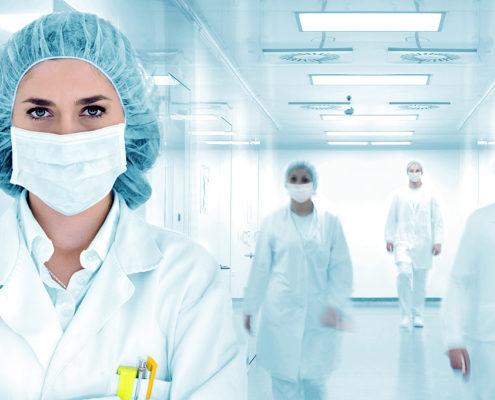 Шаблон одностраничного сайта медицинского Врача Доктора