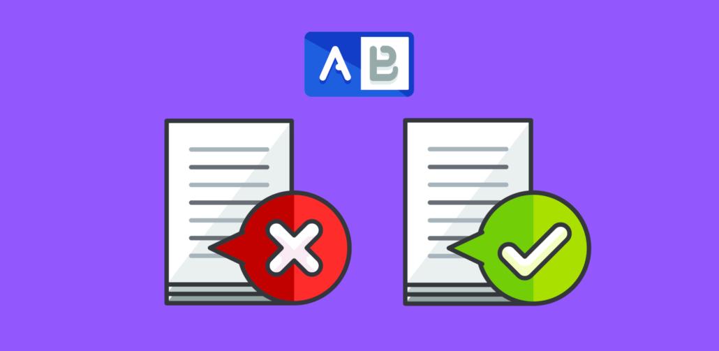 А/В тест одностраничного сайта как правило самая трудная часть — заключается она в том, чтобы определить, что необходимо тестировать в первую очередь? В работе с тысячами клиентов, которые проводят AБ тест каждый день, мы постоянно слышим один из самых распространенных вопросов – «С чего нам начать А/В тест?»