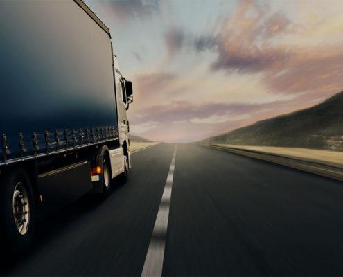 Образец одностраничного сайта Транспортные услуги