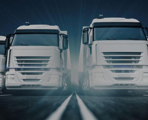Шаблон одностраничного сайта по Доставке грузов